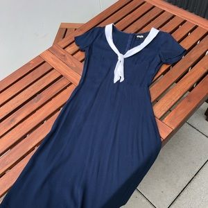 The Reformation Sailor Dress